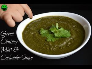 Green Chutney Mint And Coriander Sauce Pudina Chutney Punjabi Style 1014851 By Chawlaskitchen