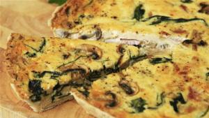 Spinach And Ham Quiche Recipe 1005851 By Videojug