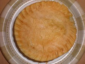 Microwaved Chicken Pot Pie