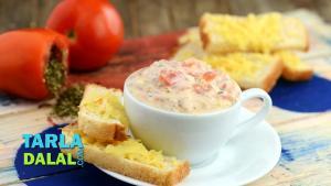 Herbed Tomato Dip 1019477 By Tarladalal