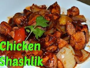 Chicken Shashlik Authentic Chinese