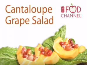 Cantoloupe And Grape Salad
