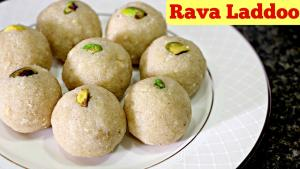 Rava Laddoo Easy Diwali Sweet 1018621 By Sruthiskitchen