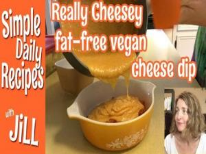 Really Cheesy Fat Free Vegan Cheese Dip