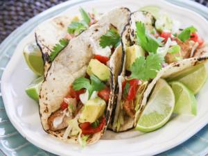 Fish Tacos With Fresh Salsa Recipe