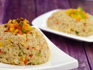 Brown Rice Risotto Zero Oil Healthy Heart Recipe By Tarla Dalal
