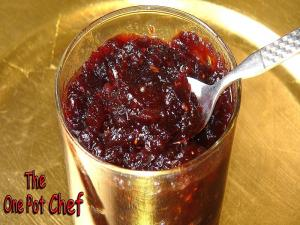 Home Made Cranberry Sauce