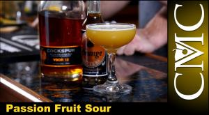 The Passion Fruit Sour