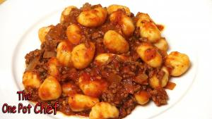 Quick Beef With Gnocchi One Pot Chef