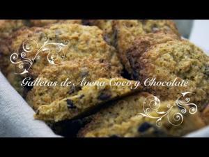 Galletas De Avena Coco Y Chocolate Galletas De Avena Y Coco Galletas De Coco Y Avena 1019853 By Chefdemicasa