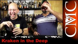Kraken In The Deep Bomb Shot With Mikes Black Cherry