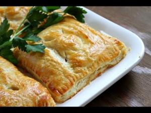 Turkey And Vegetable Puffs One Pot Chef