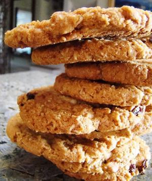 Raisin Sugar Cookies