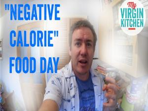 Negative Calorie Day A Video Diary