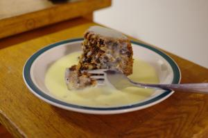 Microwaved Vanilla Sauce