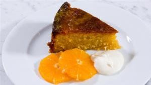 Gluten Free Orange Polenta Cake 1005839 By Videojug
