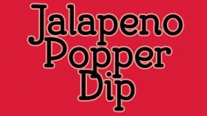 Jalapeno Popper Dip 1018375 By Copykat