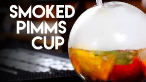 Smoked Pimms Cup Smoking Gun Halm Awesome 1016339 By Commonmancocktails