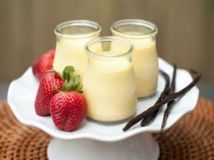 Double Vanilla Pots De Creme