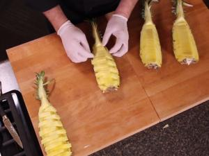 Pineapple Cutting