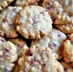 Cranberry Oat Cookies