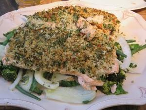 Panko And Herb Crusted Salmon On The Grill 1014961 By Rootboyslim