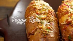 Veggie Rolls Vegetable Filled Healthy Flavorful Snacks 1016187 By Cookingshooking