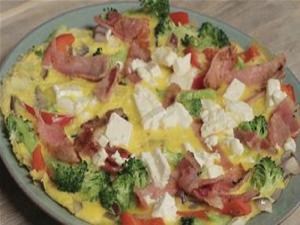 Bacon And Feta Omelette