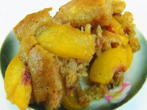 Bettys Amazing Peach Batter Cobbler