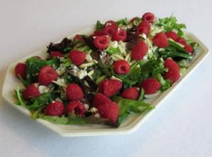 Raspberry Almond Salad