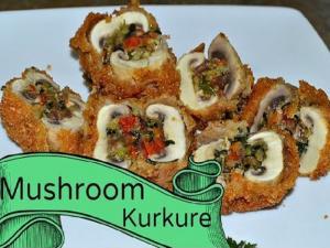 Stuffed Kurkure Mushroom Recipe Video By Chawlas Kitchen Episode 259