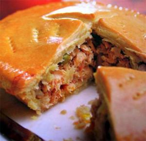 Deep Dish Tuna Pie