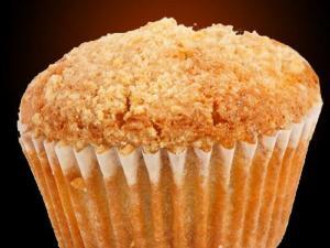 Spiced Applesauce Muffins