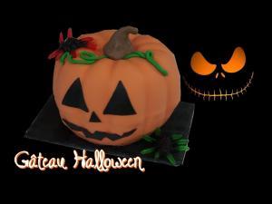 Pumpkin Cake 3 D