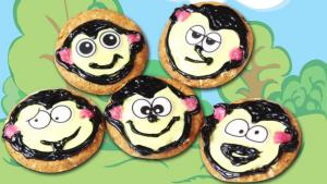 5 Little Monkeys Cookies