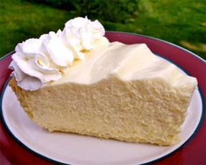 Sweet Lemon Chiffon Pie