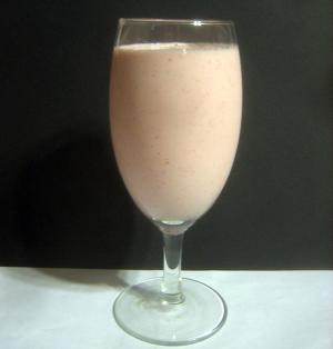 Vanilla Flavored Banana Milk Shake