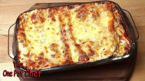 Beef And Vegetable Cannelloni One Pot Chef