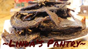 Teriyaki Peppered Beef Jerky 1018770 By Lindaspantry