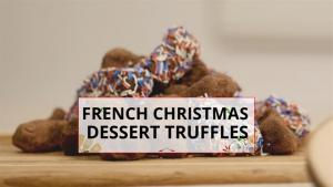 How To International Christmas Cooking French Truffles