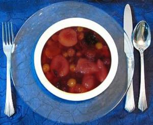 Hot Fruit Soup