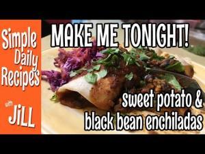 Wish I Made More Sweet Potato Black Bean Enchiladas 1015199 By Simpledailyrecipes