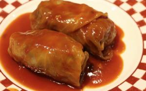 Hamburger Cabbage Roll