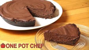 Ultimate No Bake Chocolate Pie 1018626 By Onepotchefshow