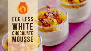 Diy Eggless White Chocolate Mousse Holi Special Recipe 1015825 By Beingindiansawesomesauce