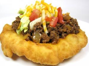 Homemade Indian Tacos