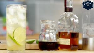 Autumn Rickey Cocktail