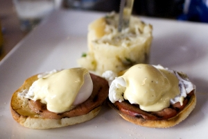 Delectable Eggs Benedict