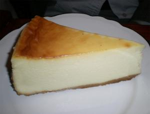 Simple Vanilla Cheesecake