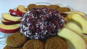 Cranberry Feta Cheese Ball